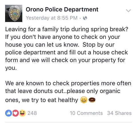 Orono-Police-Facebook-Post