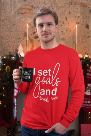 long-sleeve-tee-mockup-of-a-man-holding-an-11-oz-coffee-mug-in-a-christmas-setting-30178